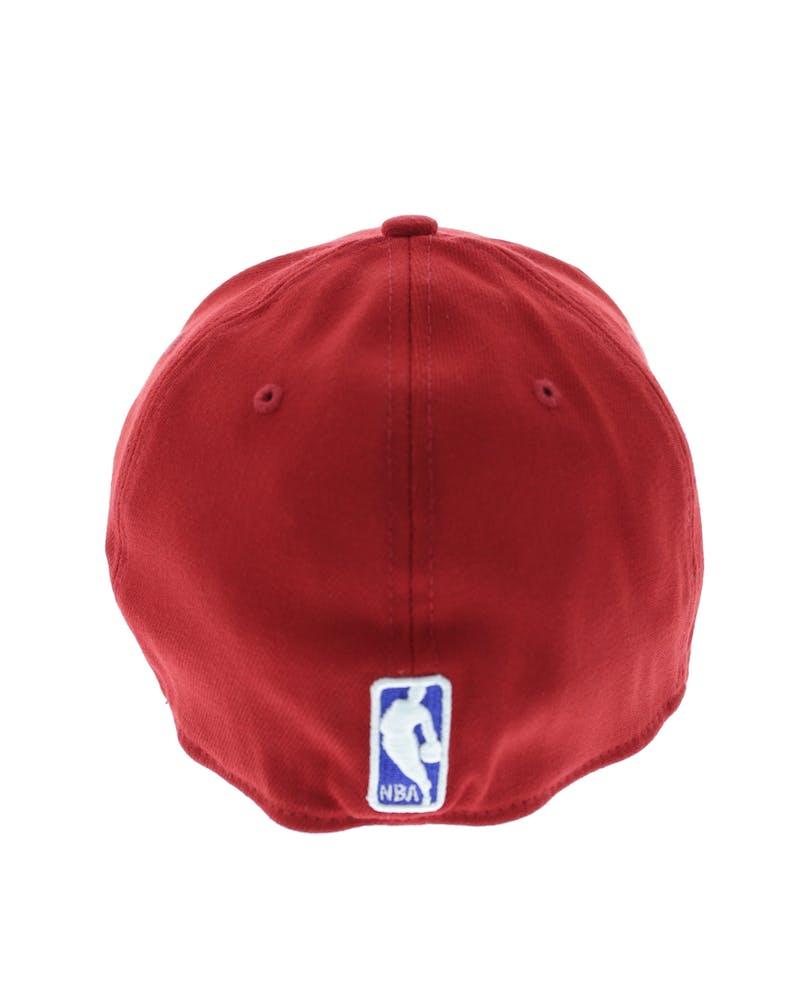 New Era 76ers 3930 Fitted Scarlet