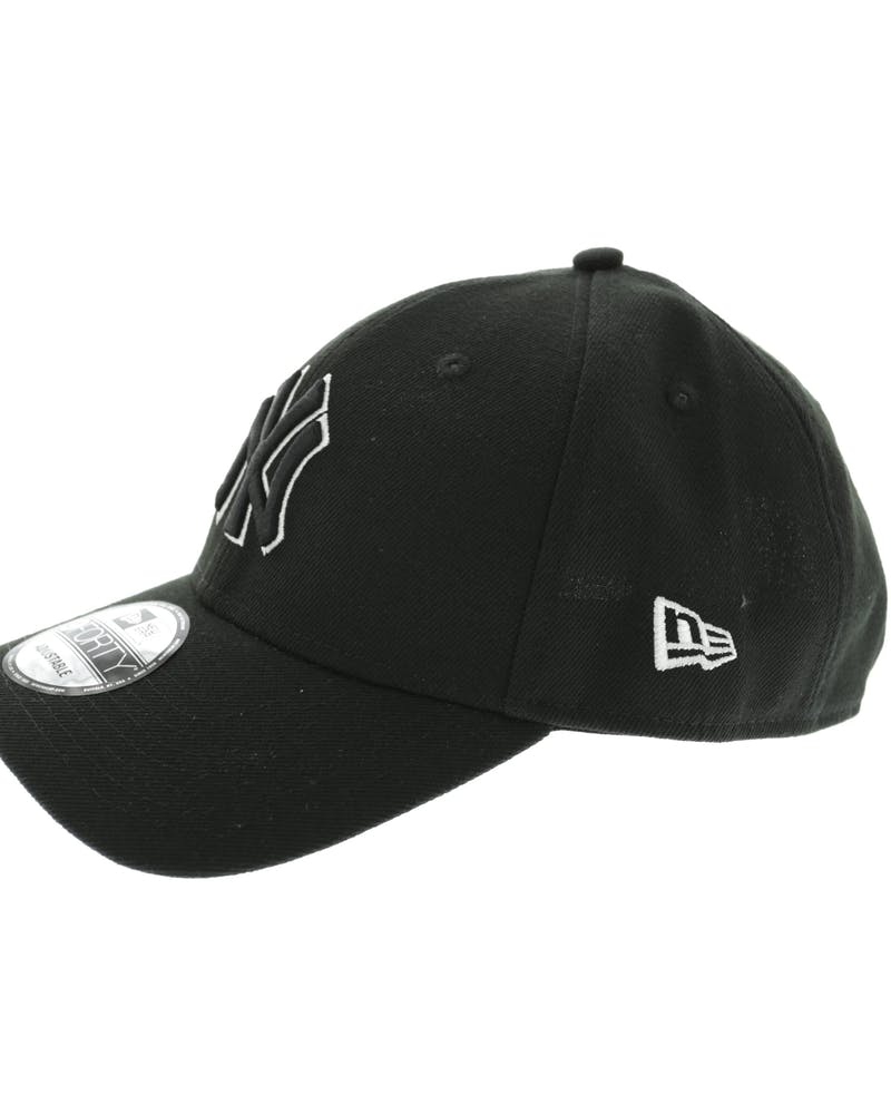 New Era Yankees 9FORTY Outline Snapback Black/White