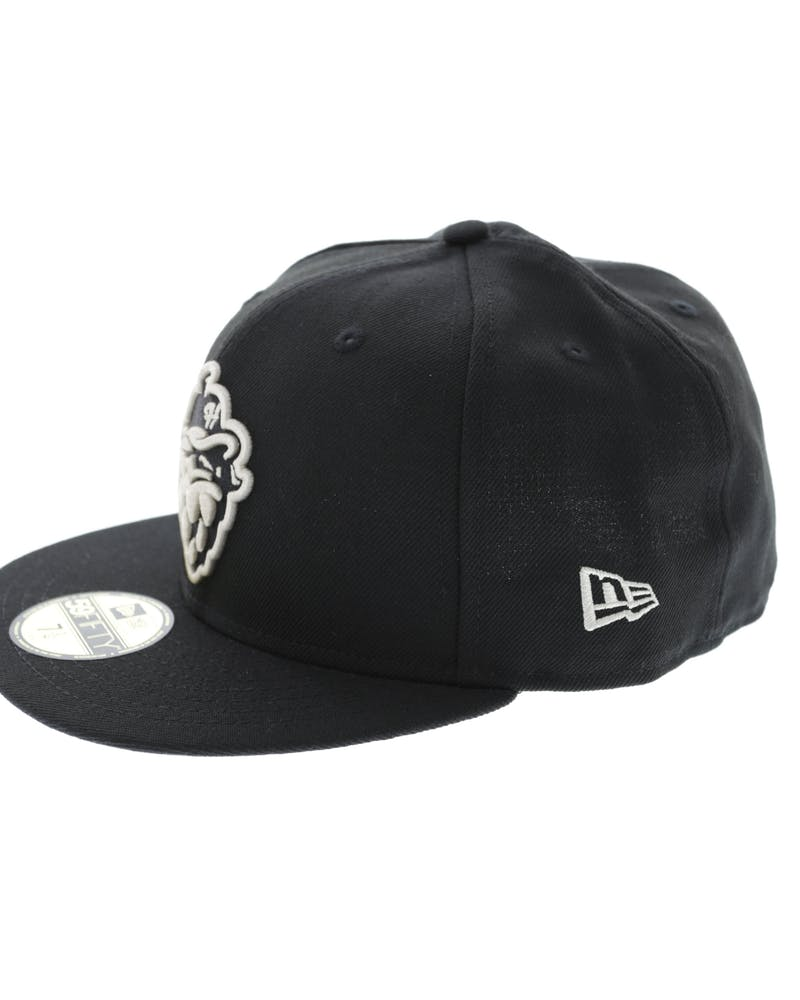 New Era Hillsboro Hops Minor League 59Fifty Fitted Black/Stone
