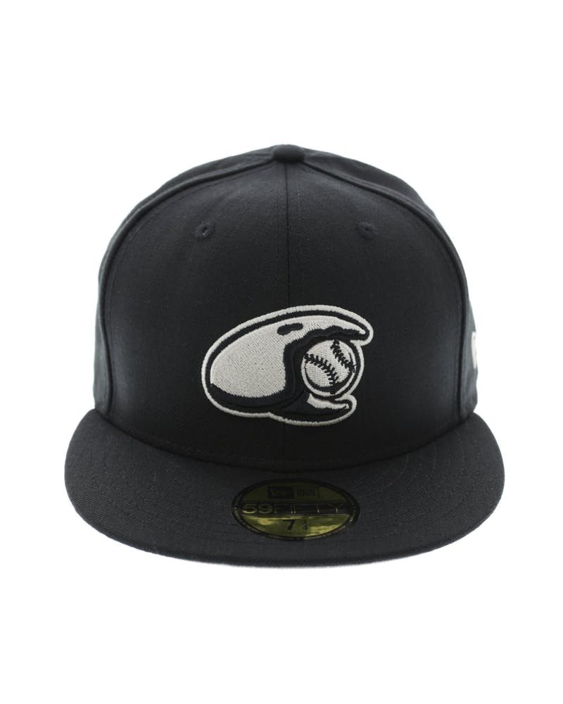 New Era Crabs Minor League 59Fifty Fitted Black/Stone