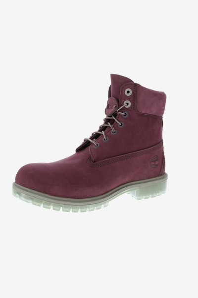 Timberland 6 Inch Premium Boot TPU Outsole Dark Red