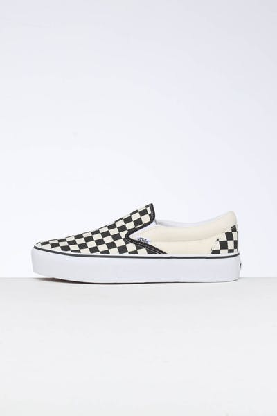 Vans CSO Platform B&W Check Black/White