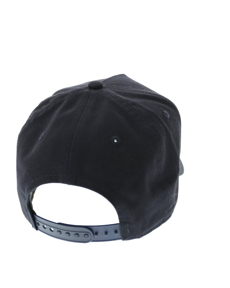 New Era Indians 9FORTY A-Frame Strapback Navy