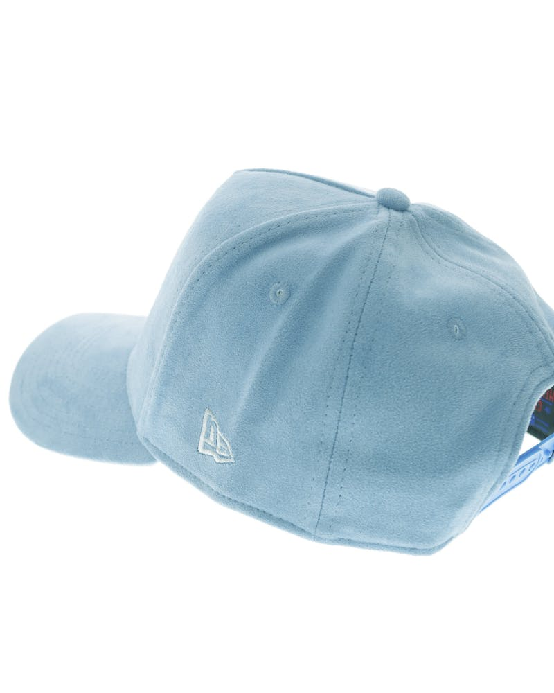 New Era Dodgers 9FORTY A-Frame Suede Snapback Blue