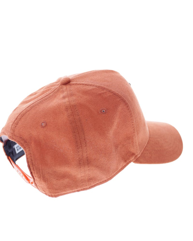 New Era Dodgers 9FORTY A-Frame Suede Snapback Orange