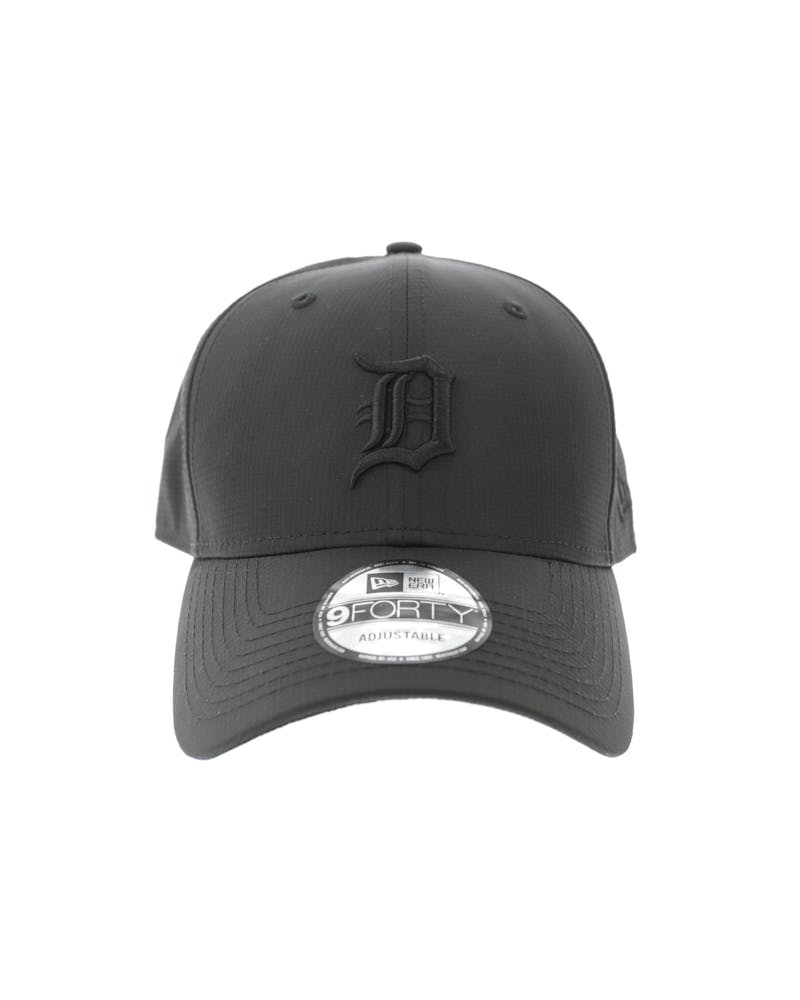 New Era Detroit Tigers 940 Ripstop Snapback Black