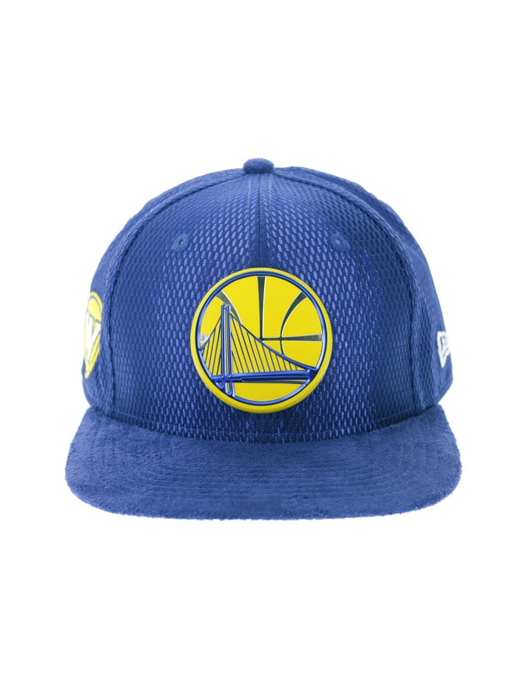 the best attitude 1d981 01cf2 New Era Golden State Warriors 9FIFTY Original Fit On-Court Collection Draft  Snapback Royal
