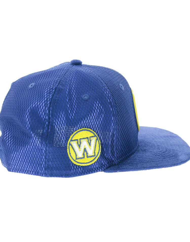 the best attitude f9b9a 92224 New Era Golden State Warriors 9FIFTY Original Fit On-Court Collection Draft  Snapback Royal