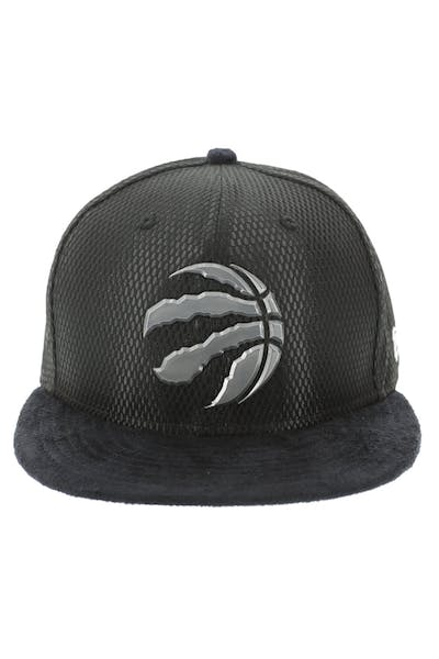 New Era Toronto Raptors 59FIFTY Fitted On-Court Collection Draft Black