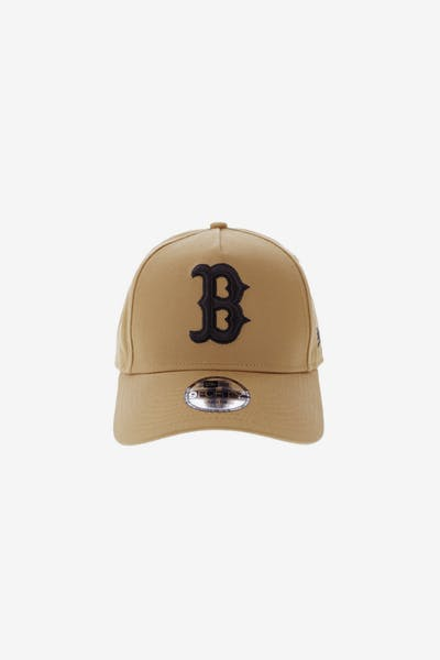 f448cf590a3 New Era Youth Boston Red Sox 9FORTY A-Frame Snapback Wheat
