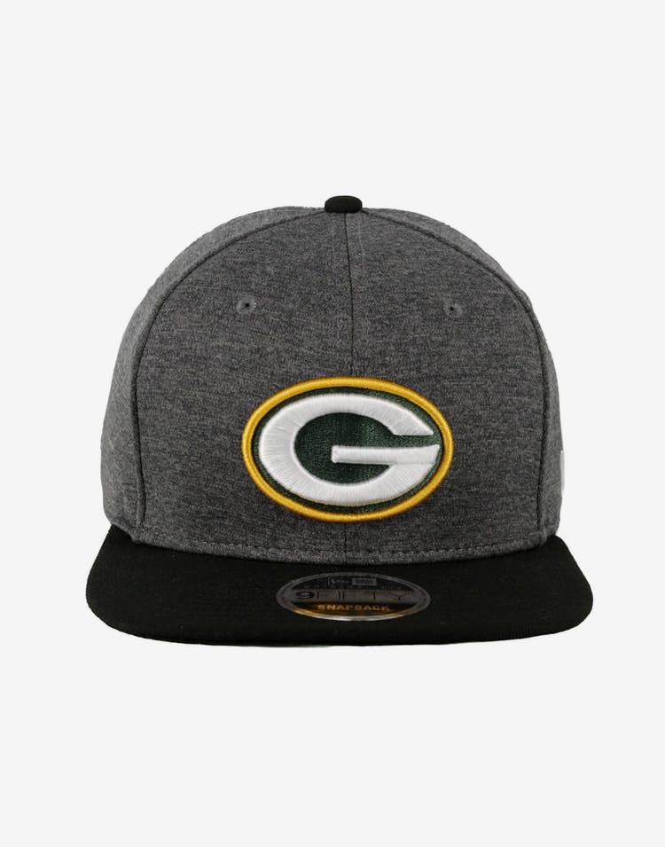 273a540767b49 New Era Green Bay Packers Original Fit 9FIFTY Snapback Charcoal ...