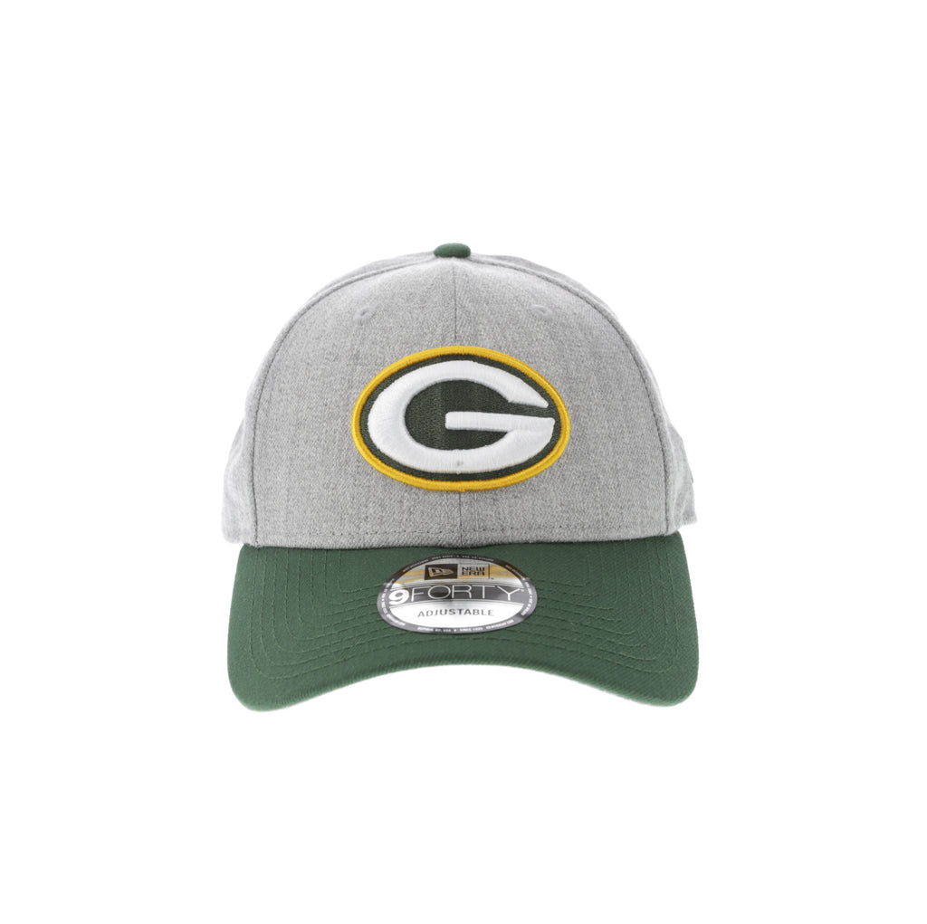 ... knit hat 1e960 85977  coupon for new era green bay packers 9forty  snapback grey heather 4dfad c090e def0b09c7