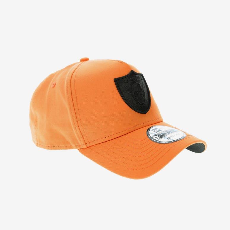 2938ab7de7b New Era Oakland Raiders 9FORTY A-Frame Snapback Orange Black