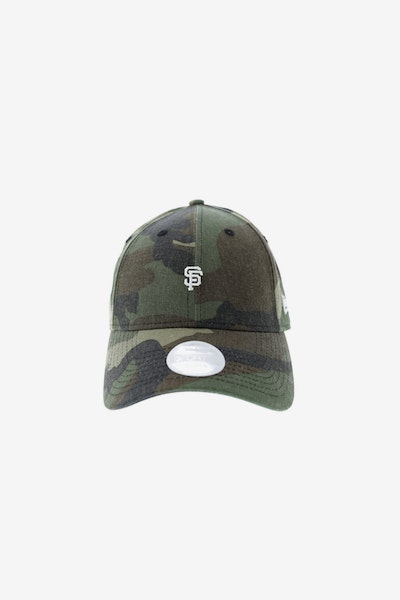 New Era Ladies San Francisco Giants 940 Mini Strapback Camo