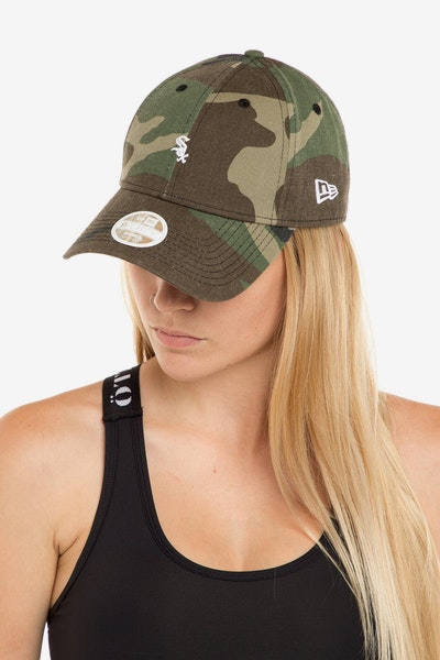 New Era Ladies Chicago Whitesox 940 Mini Strapback Camo