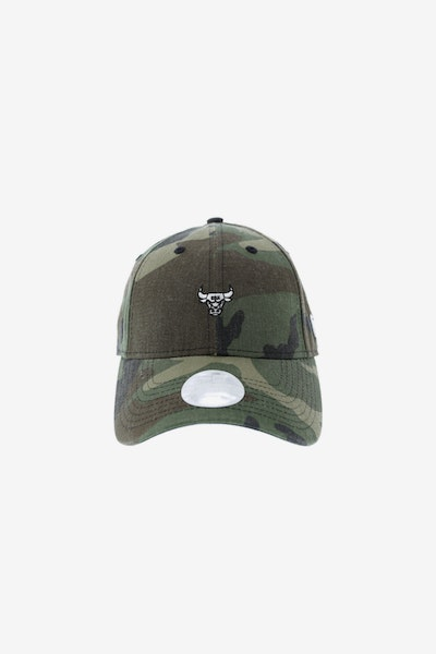 New Era Ladies Chicago Bulls 940 Mini Strapback Camo