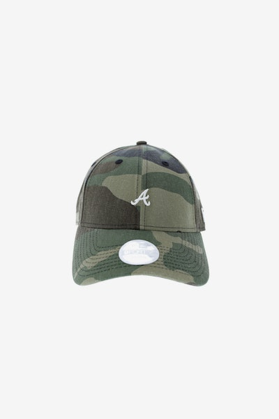 New Era Ladies Oakland A's 940 Mini Strapback Camo