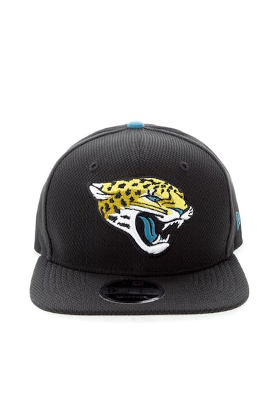 New Era Jacksonville Jaguars 9FIFTY Original Fit Snapback Black
