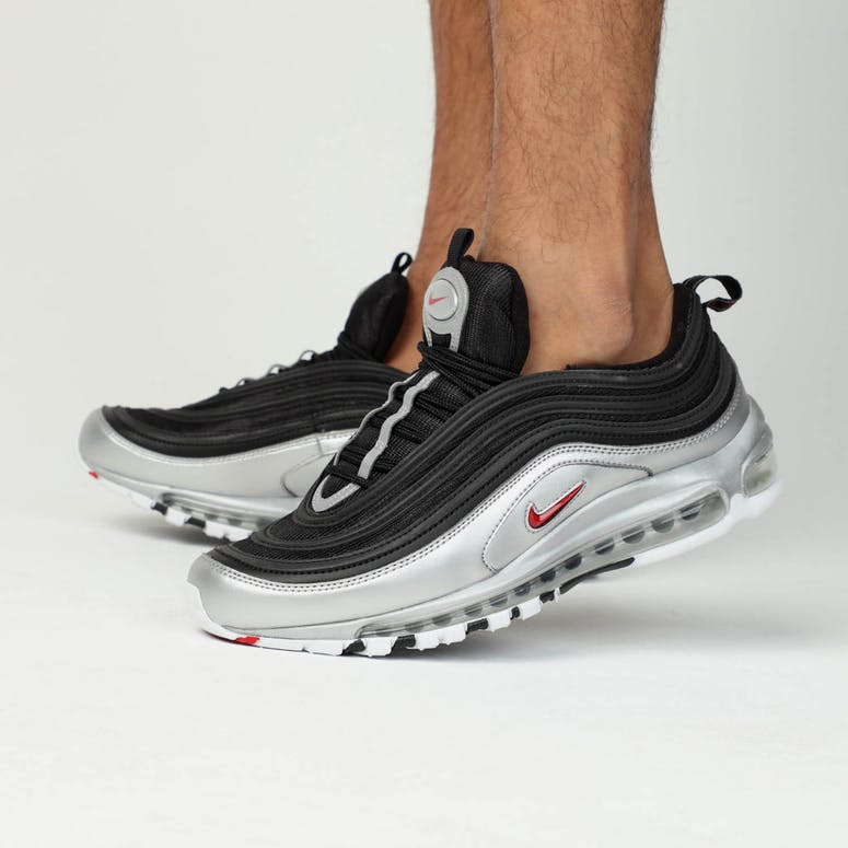 Nike Air Max 97 QS Black Red Silver 7975f0d7f
