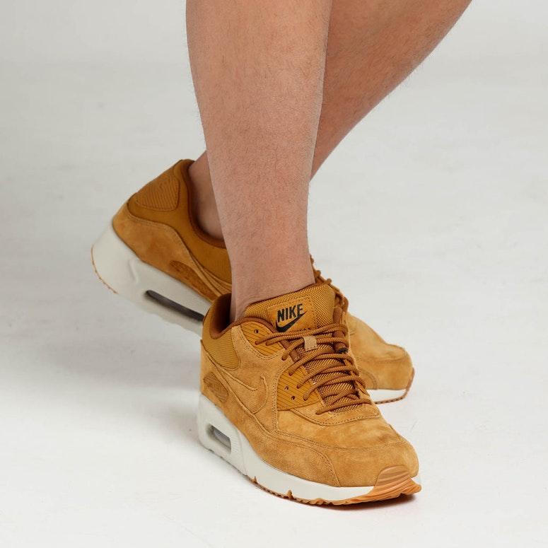 173c8843204 Nike Air Max 90 Ultra 2.0 Leather Wheat White