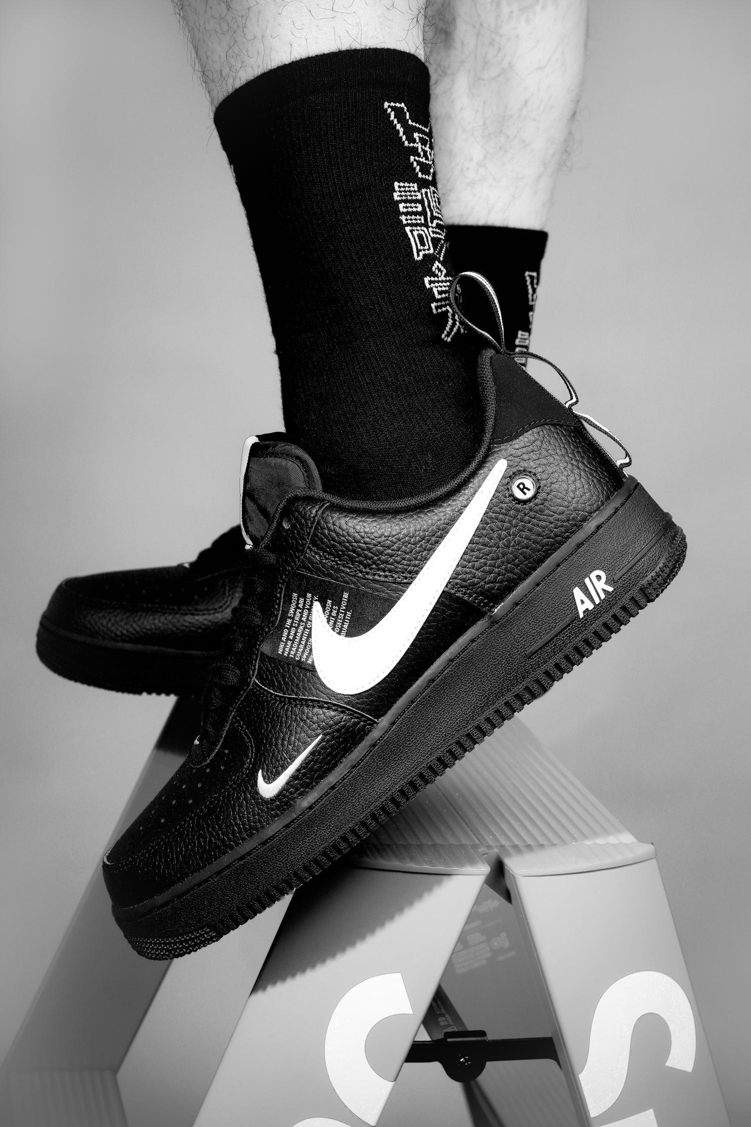 Nike Air Force 1 '07 LV8 Utility Black