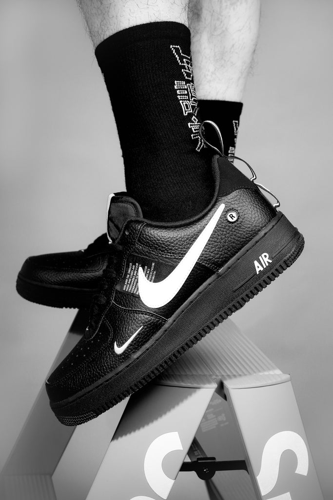 Nike Air Force 1 '07 LV8 Utility BlackWhite