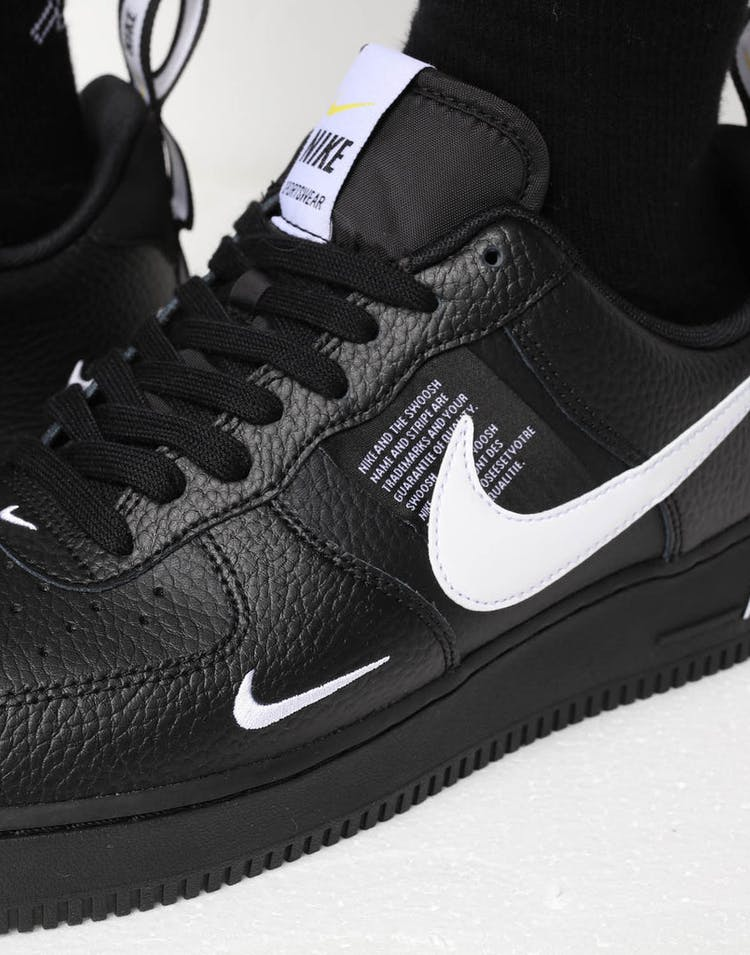 timeless design a48ee cb2cb Nike Air Force 1 '07 LV8 Utility Black/White – Culture Kings NZ