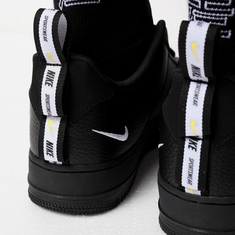 4c12605592a3 ... Nike Air Force 1 07 LV8 Utility Black White Culture Kings NZ