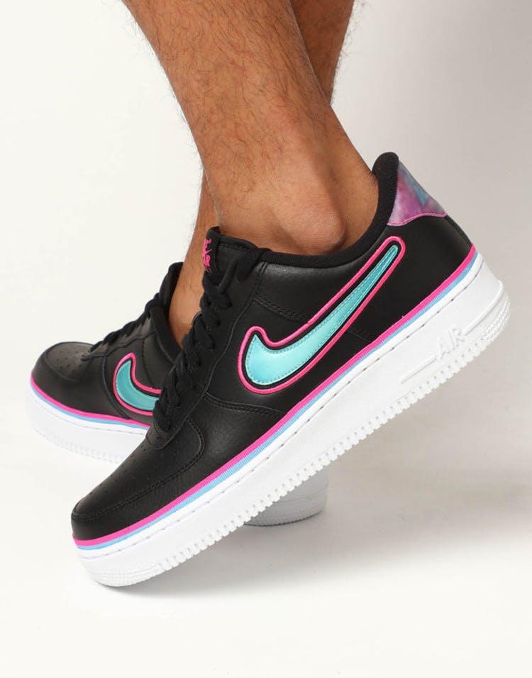 0739355ca5259 Nike Air Force 1 '07 LV8 Sport Black/Blue – Culture Kings NZ