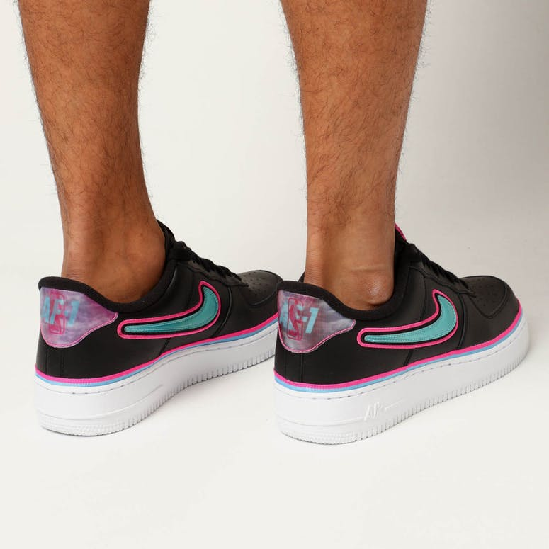 6a574f0335e Nike Air Force 1  07 LV8 Sport Black Blue – Culture Kings NZ