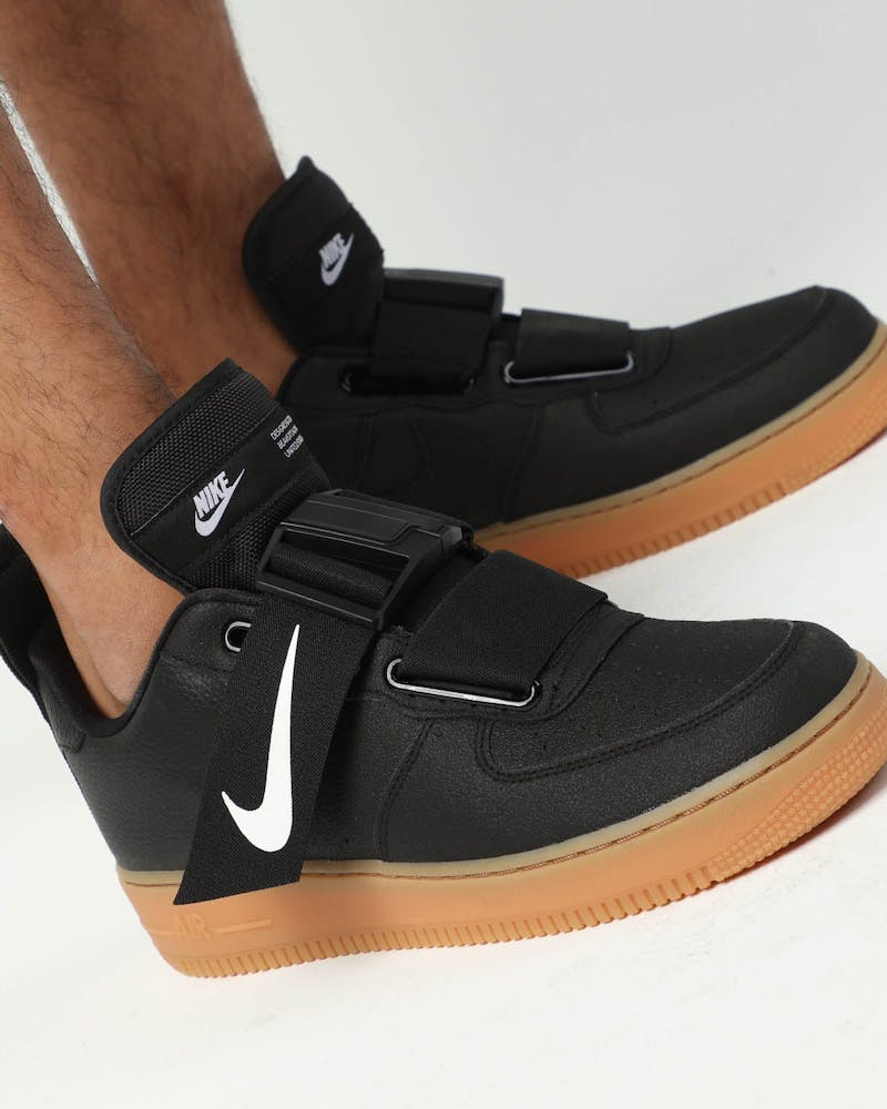 Nike AIR FORCE 1 UTILITY Black/Gum