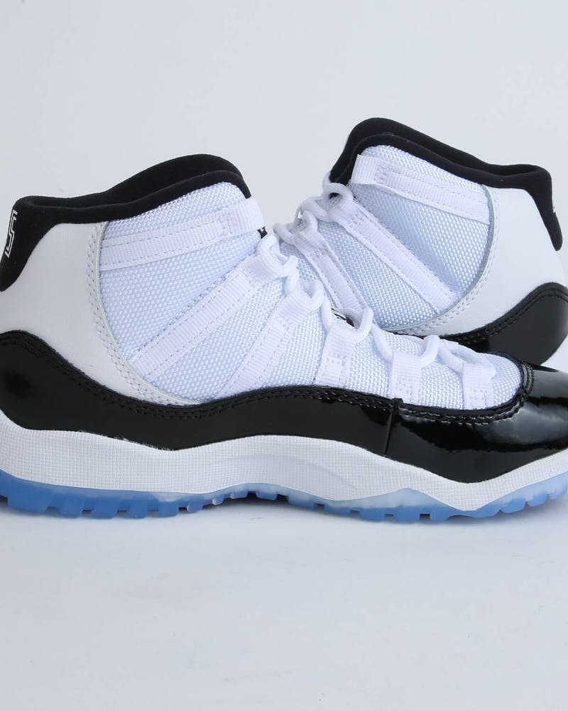 Jordan Boy's Air Jordan 11 Retro (PS) White/Black