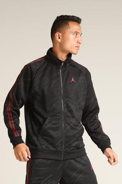 promo code 14b79 75a17 Jordan Jumpman Tricot Jacket Black Red
