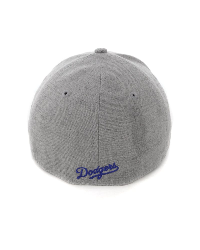 New Era Los Angeles Dodgers 3930 Stretch Fit Heather Grey