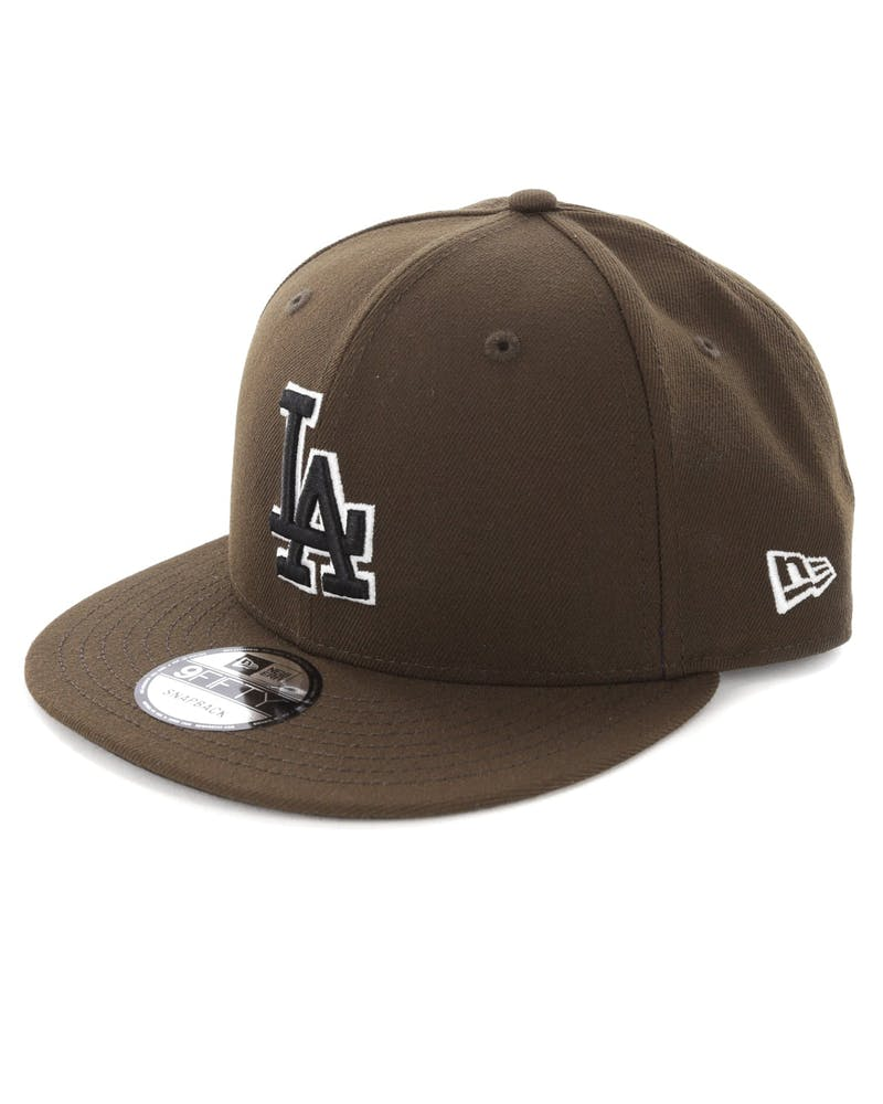 New Era Los Angeles Dodgers 9FIFTY Snapback Walnut