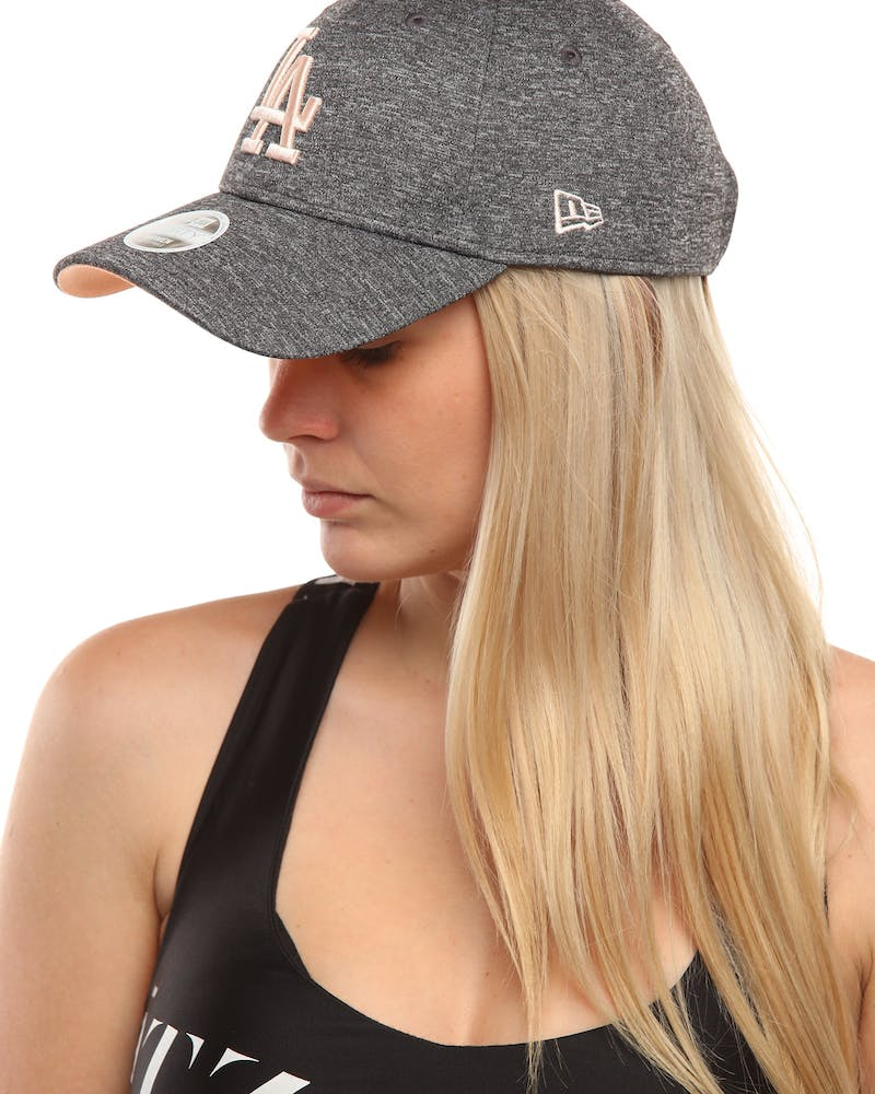 New Era Women's Los Angeles Dodgers 9FORTY Strapback Graphite