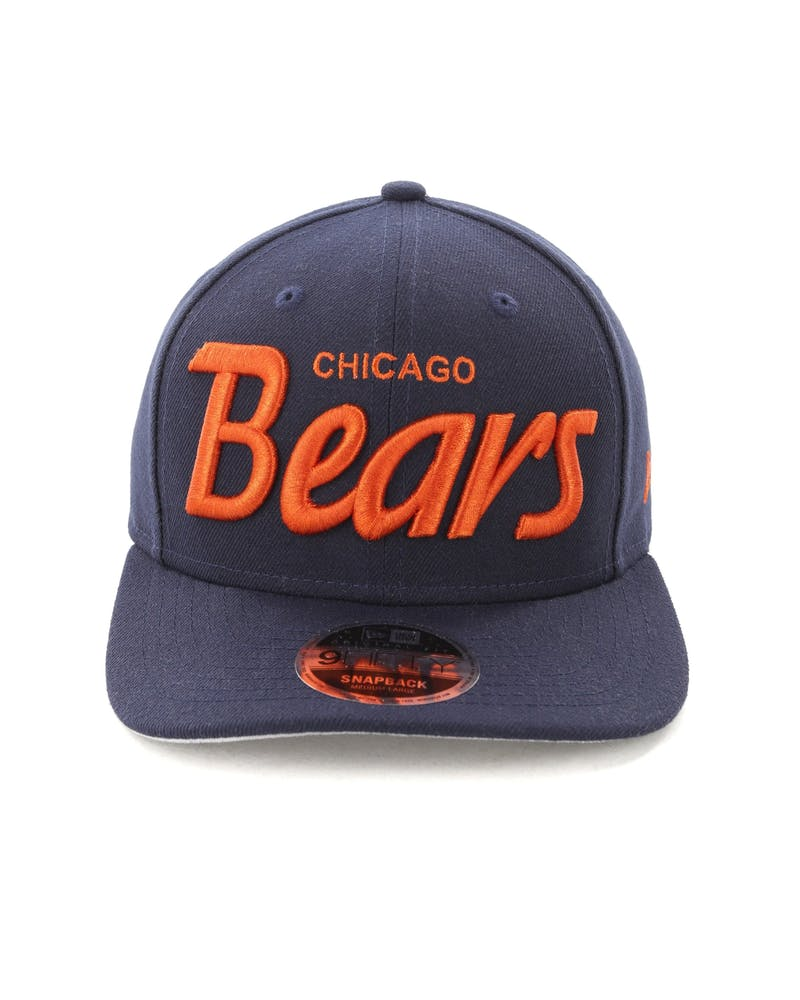 New Era Chicago Bears 9FIFTY Original Fit Precurve Snapback Navy