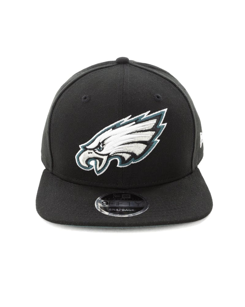 New Era Philadelphia Eagles 9FIFTY Original Fit Snapback Black