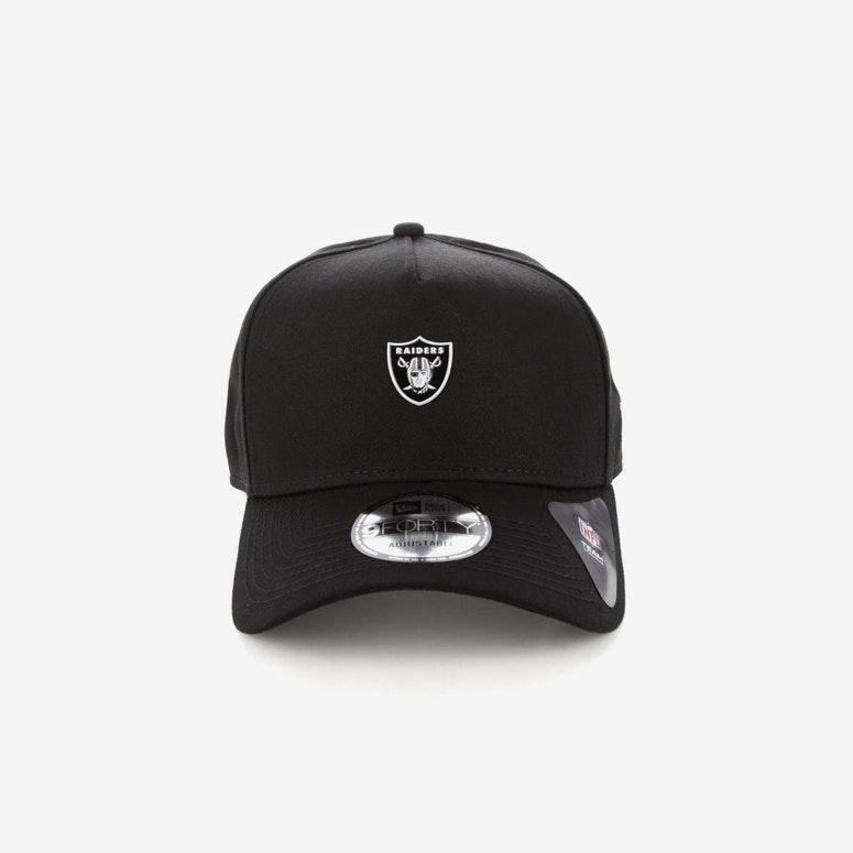 691e123e97c New Era Oakland Raiders TPU 9FORTY A-Frame Snapback Black – Culture ...