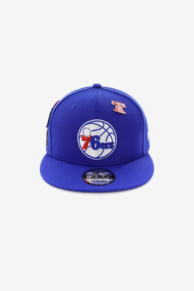 New Era 76ERS 950 OTC Draft Snapback Royal