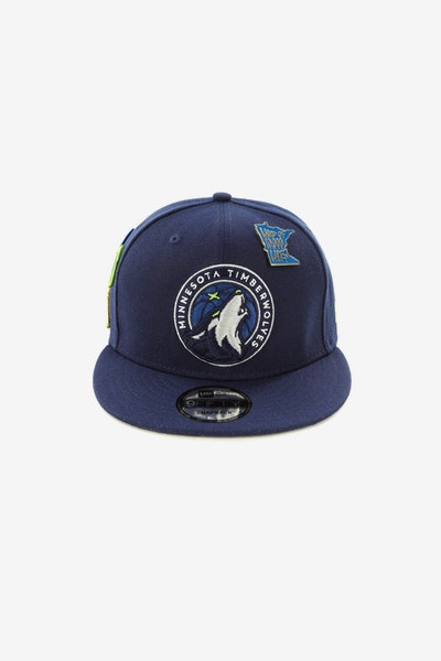 New Era Timberwolves 950 OTC Draft Snapback Navy