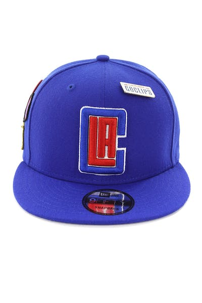 New Era Clippers 9FIFTY OTC Draft Snapback Royal