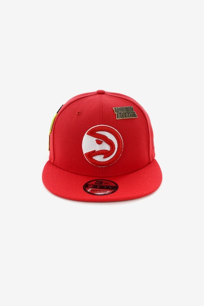 New Era Hawks 950 OTC Draft Snapback Red