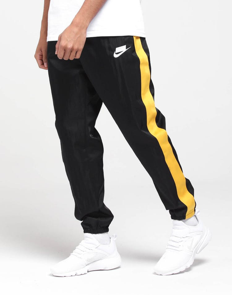 Nike NSW Pants Black/Yellow/White