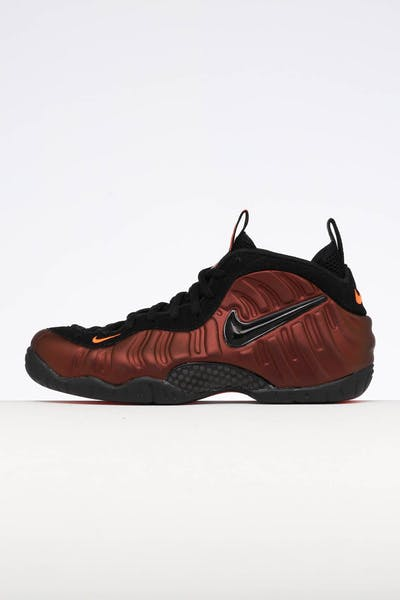 big sale ae303 adb58 Nike Air Foamposite Pro Crimson Black