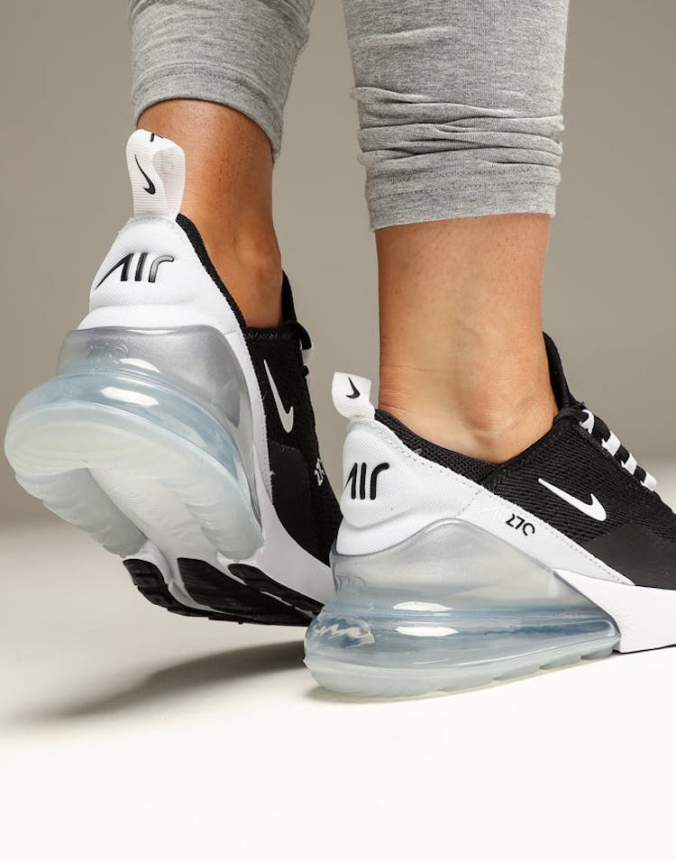buy online 20717 0d99e Nike Women's Nike Air Max 270 Black/White/White