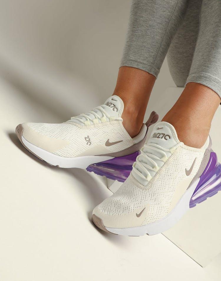 timeless design 5f301 74761 Nike Women's Air Max 270 Sail/Space Purple