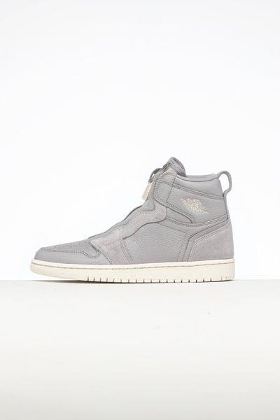 080474f55c7 Jordan Air Jordan 1 High Zip Grey/Sand/Ivory