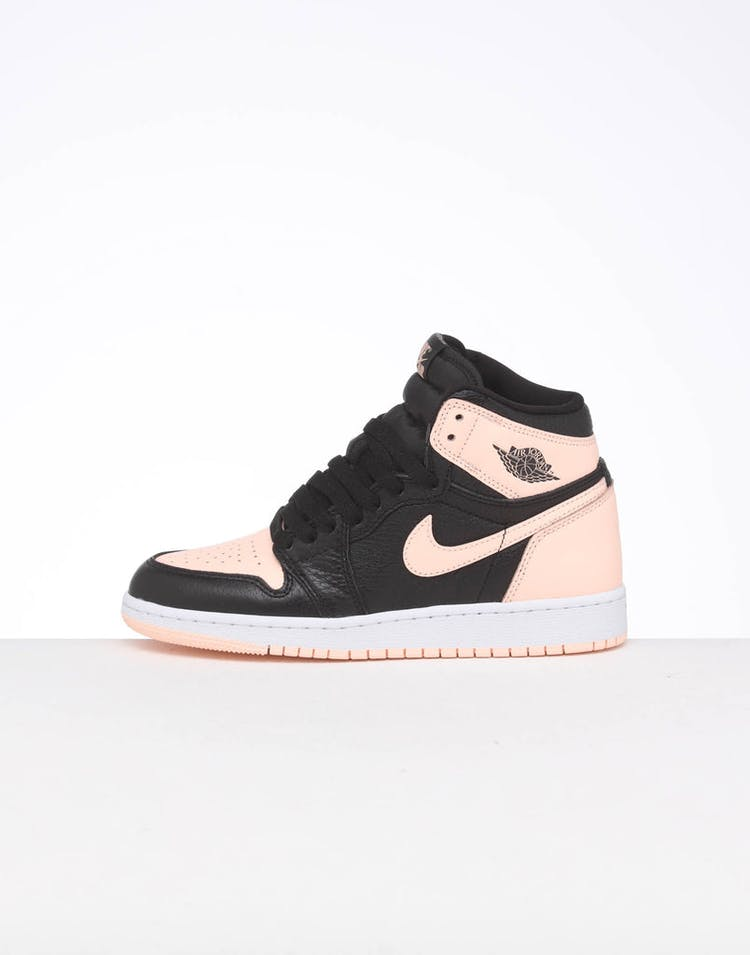premium selection c0630 c3a75 JORDAN KIDS AJ1 RETRO HIGH OG (BG) BLACK/PINK/WHITE