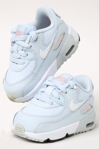 867cf6879151 Nike Toddler Air Max 90 Leather (TD) Half Blue White